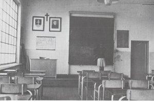 Učilište v roku 1942.