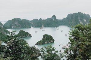 Halong Bay, sever Vietnamu
