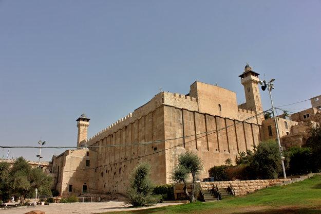 Abrahámova mešita v Hebrone je častou témou konfliktu.
