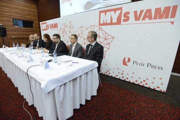 Diskusia so županom Trnavského samosprávneho kraja.