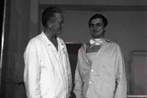 Štefan Kukura (vľavo).