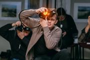Fotograf Pavel Kuna v akcii...