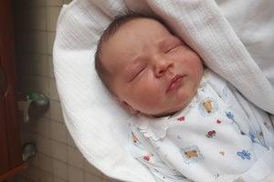 Benyamin Petráš (3300 g, 50 cm) sa narodila 8. januára Lucii a Miroslavovi z Myjavy. Je to ich prvé dieťa.