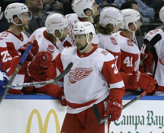 Gól Tomáša Tatara Detroitu nestačil.