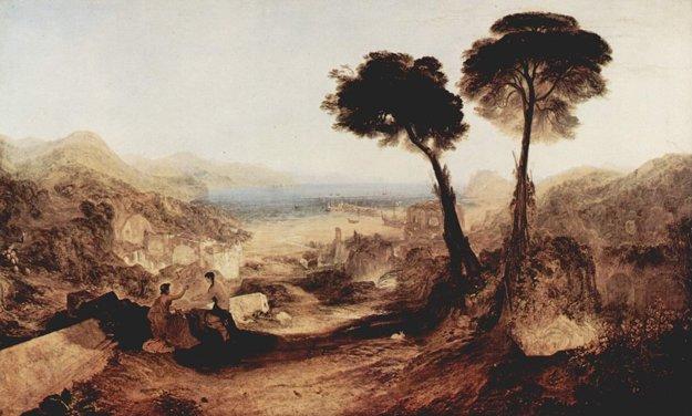 Baiae na Turnerovej maľbe.