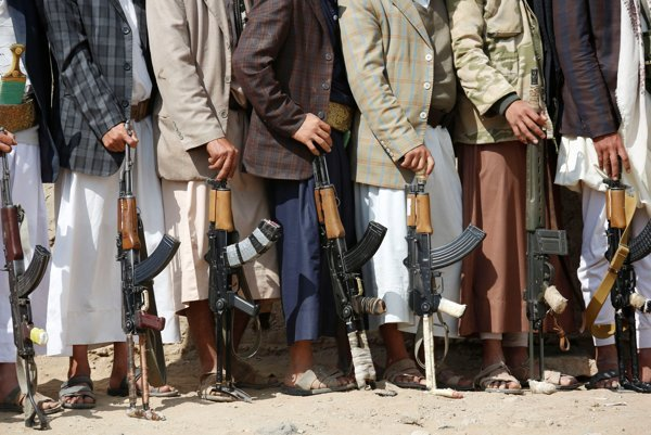 Jemenskí povstalci - hútíovci.
