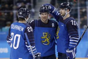 Hokejisti Fínska sú po dvoch zápasoch na čele skupiny.