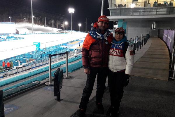 Rodičia Anastasie Kuzmonovej - Vladimir a Oľga Šipulinovci.