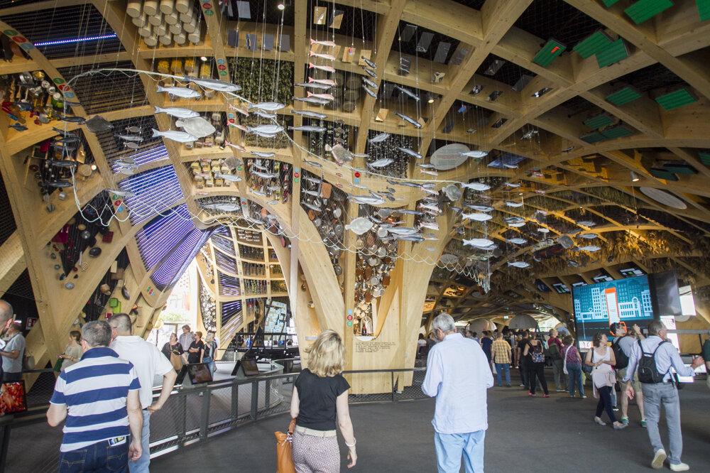 Svetová výstava EXPO 2015 v Miláne.
