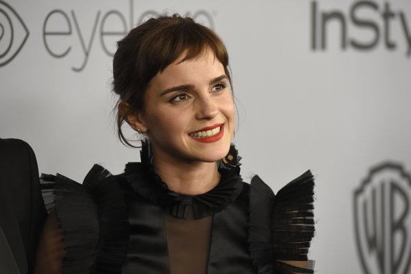 Emma Watsonová venovala novej britskej nadácii milión libier.
