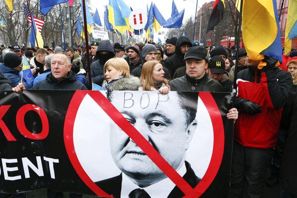 Na proteste sa podľa odhadov zúčastnilo asi 2500 ľudí.