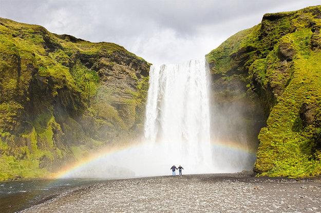 Island. Skogafoss