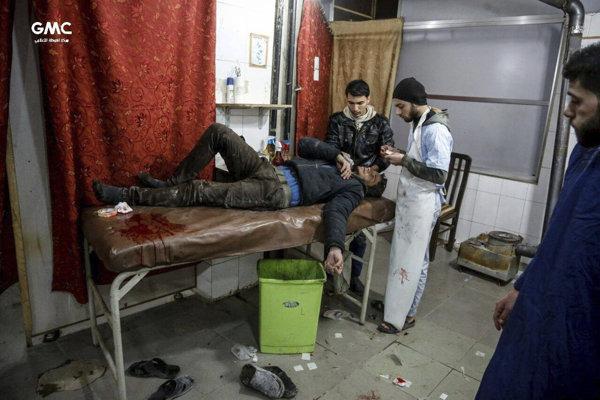 Nemocnice sú bombardované, tie, ktoré ešte stoja, nemajú potrebný materiál