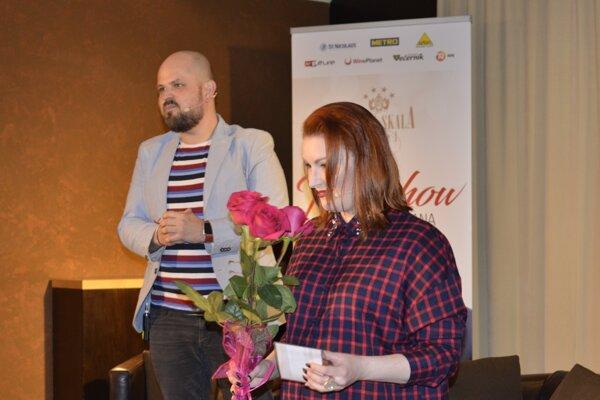 Barbora Švidraňová spestrila úsmevné rozprávanie aj spevom.