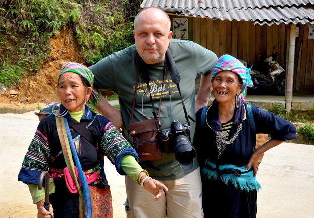 Igor Boháč vo Vietname.