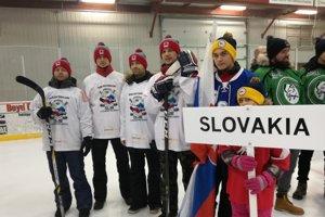 Slovenskí zástupcovia na šampionáte.