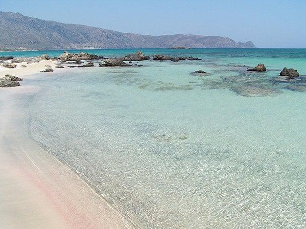 Grécko. Elafonisi
