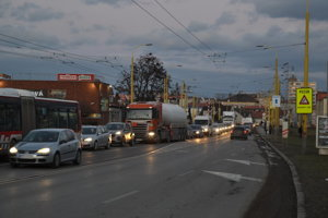 Levočská ulica. Kritické miesto prešovskej dopravy čaká veľká prestavba.