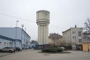 Vodárenská veža v Novom Meste nad Váhom.