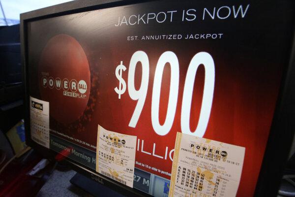Do lotérie sa zapája 44 štátov americkej Únie.
