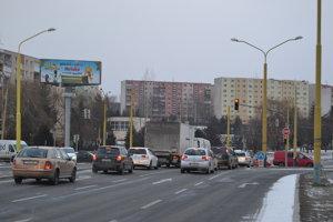 Rekonštrukcia. Rozšírenie pruhu z Rusínskej ulice má zvýšiť priepustnosť križovatky z centra mesta smerom na sídlisko Sekčov.