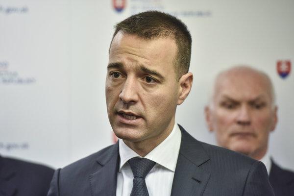 Minister Tomáš Drucker.