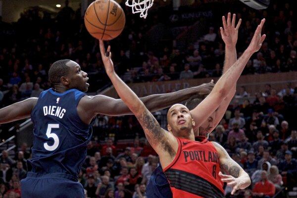 Hráči Portlandu zdolali Minnesotu.