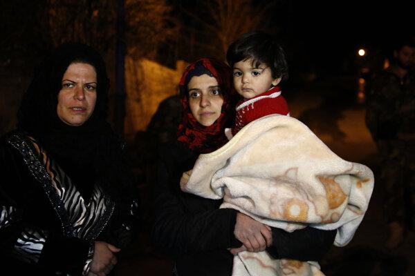 Podmienky v Madáji pri metropole Damask sú extrémne zúfalé.