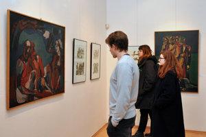 Výstava Mariána Sučanského.