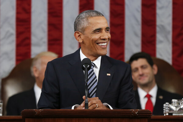 Reč amerického prezidenta sa niesla v pozitívnom duchu.