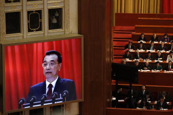 Čínsky premiér Li Kche-čchiang.