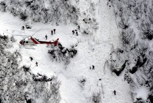 Lav�na v Tirolsku zasiahla 17 �esk�ch skialpinistov, najmenej piati zahynuli