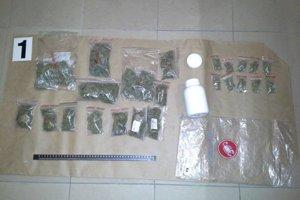 Marihuany bolo 135 gramov.