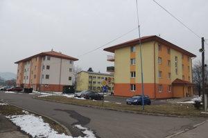Bytovky v Tekovskej Breznici.