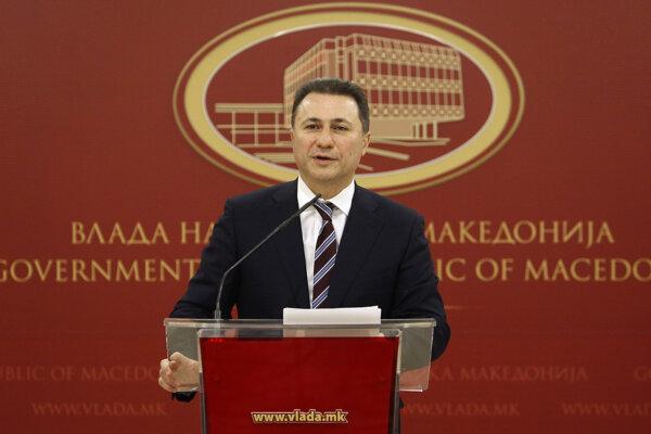 Nikola Gruevski odstúpil dnes z funkcie.