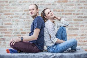 Martin Cifrík a Viky Chovancová