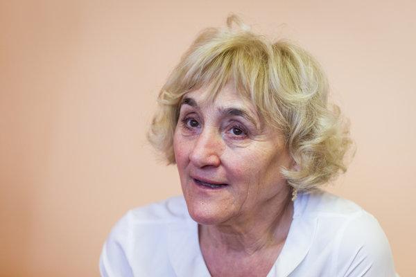 Mária Smreková.