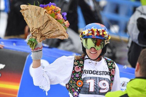 Veronika Velez-Zuzulová sa rozlúčila so Svetovým pohárom v Ofterschwangu.