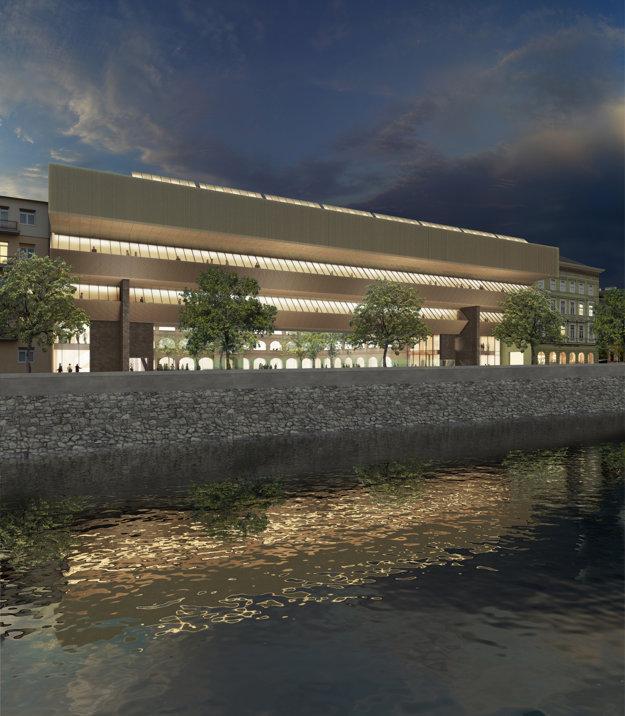Slovenská národná galéria začala odpočítavať, zrekonštruovaná bude za tri roky.