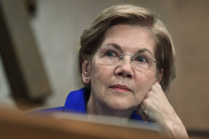 Demokratická senátorka Elizabeth Warrenová.