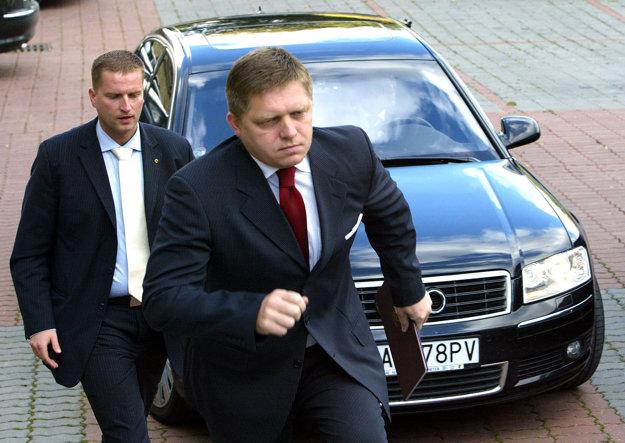 Október 2007. Rokovanie predsedníctva Smeru-SD v Banskej Bystrici.