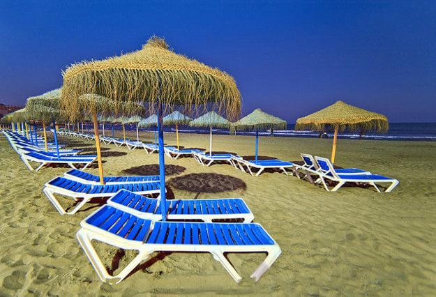 Torremolinos, pláž Carihuela