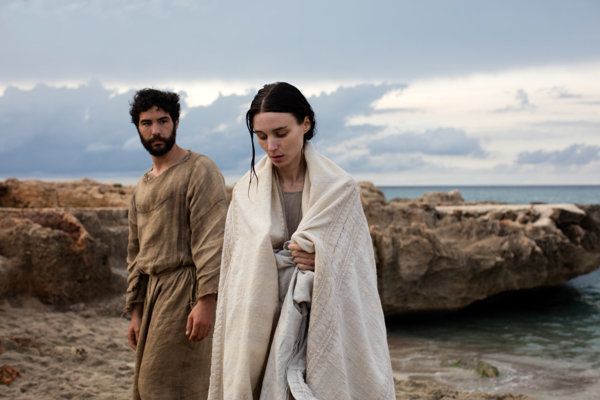 Rooney Mara ako Mária Magdaléna, Tahar Rahim ako Judáš.