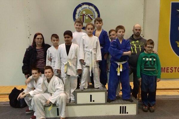 Výprava Judo clubu vMichalovciach.