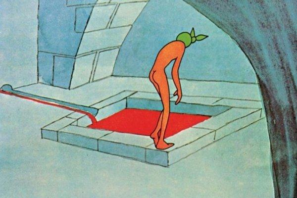 Záber z filmu Krvavá pani od Viktora Kubala.