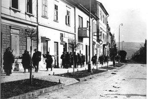 Vojaci rumunskej armády v Banskej Bystrici.