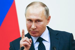 Prezident Ruska, Vladimír Putin.