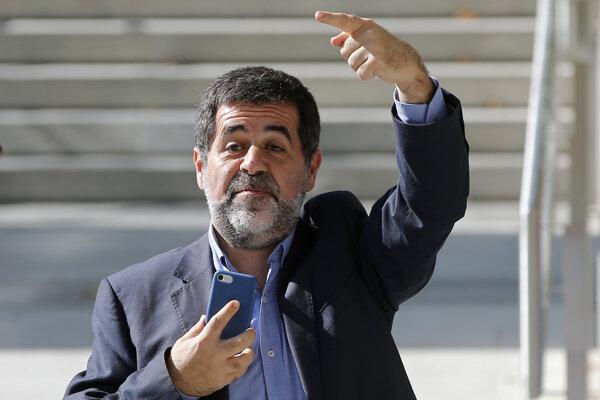 Jordi Sánchez je vyšetrovaný v súvislosti s organizvaním   protestov.