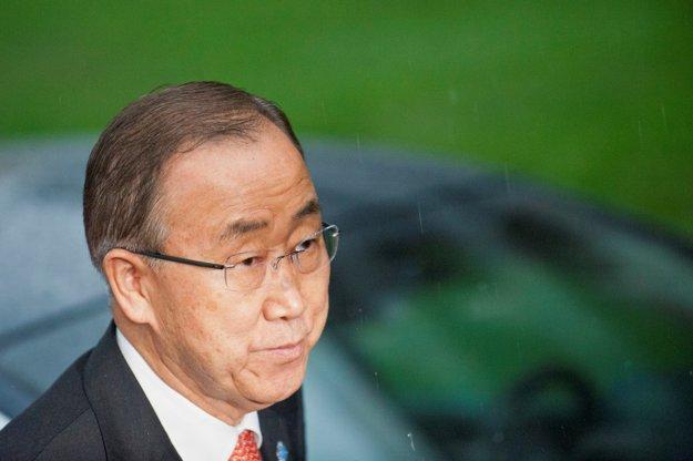 Generálny tajomník OSN Pan Ki-mun: Nikto nemôže poprieť fakt, že sa tieto udalosti odohrali.