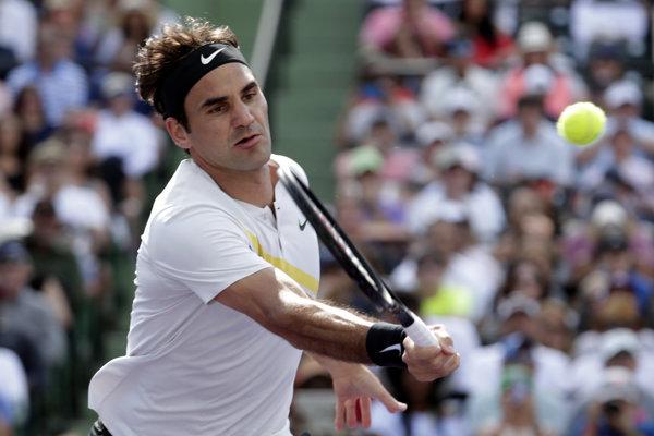 Na prebiehajúcom turnaji v Miami skončil Roger Federer už v druhom kole.